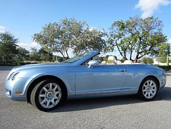 2007 Bentley Continental GTC Convertible for sale 100855505