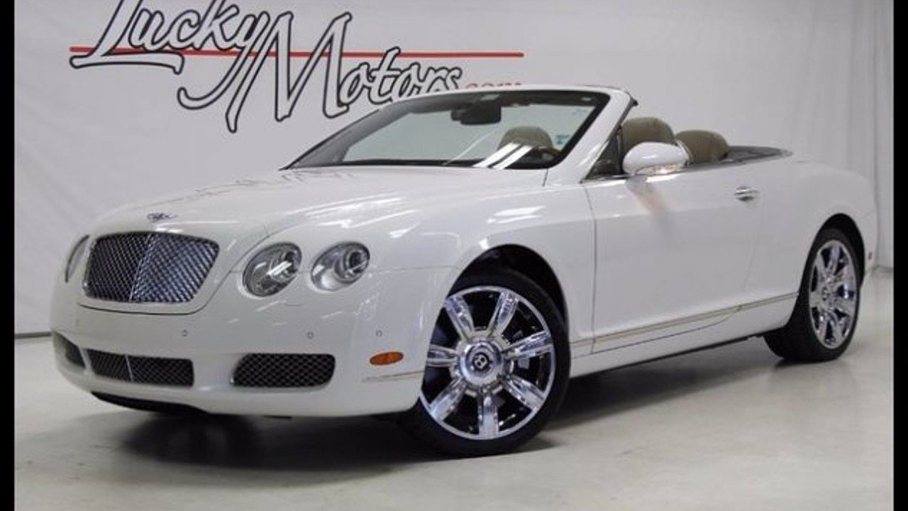 2007 Bentley Continental GTC Convertible for sale 100905501
