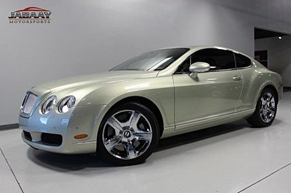 2007 Bentley Continental GT Coupe for sale 100914363