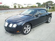 2007 Bentley Continental GTC Convertible for sale 100967794