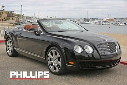 2007 Bentley Continental GTC Convertible for sale 100990460