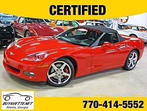2007 Chevrolet Corvette Convertible for sale 101003606