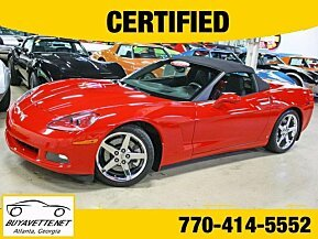 2007 Chevrolet Corvette Convertible for sale 101029048
