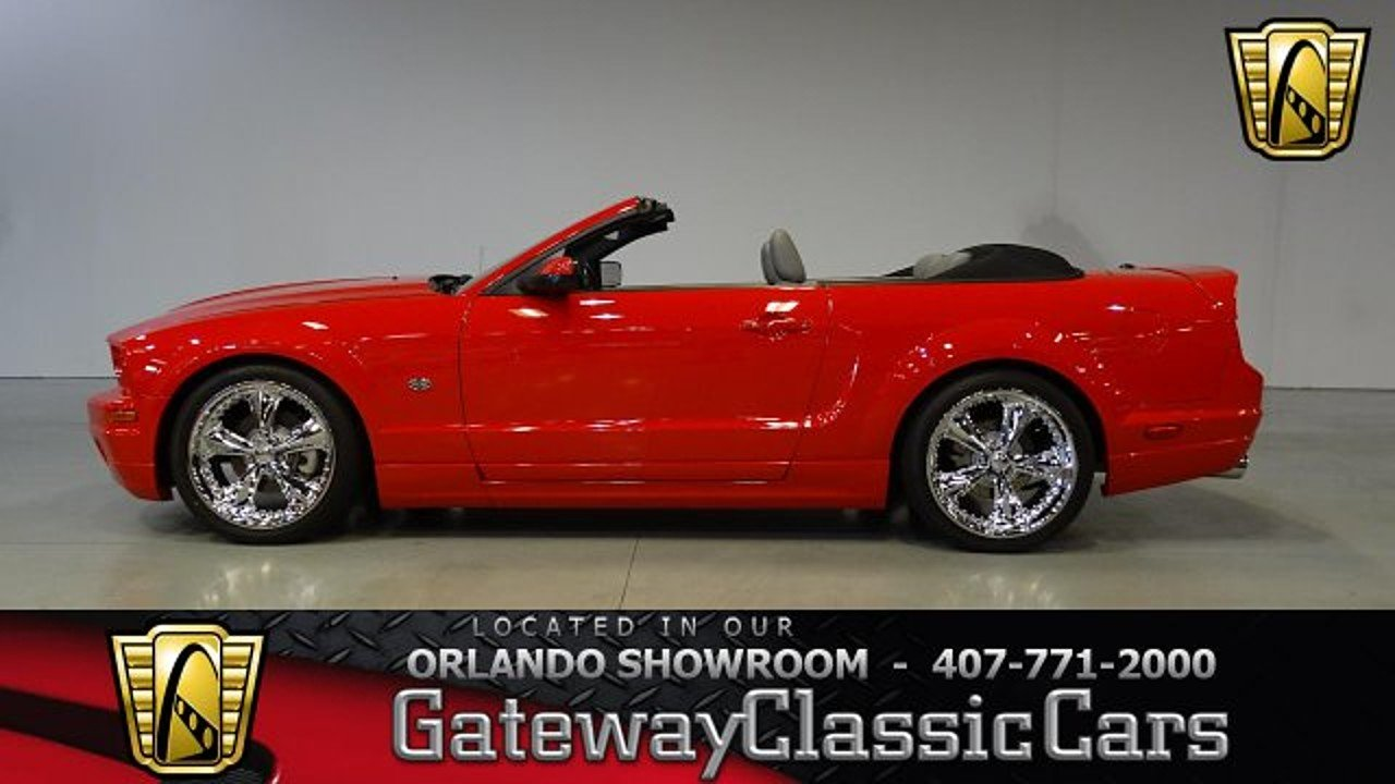 2007 Ford Mustang GT Convertible for sale 100965103