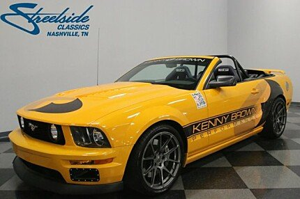 2007 Ford Mustang GT Convertible for sale 100988462