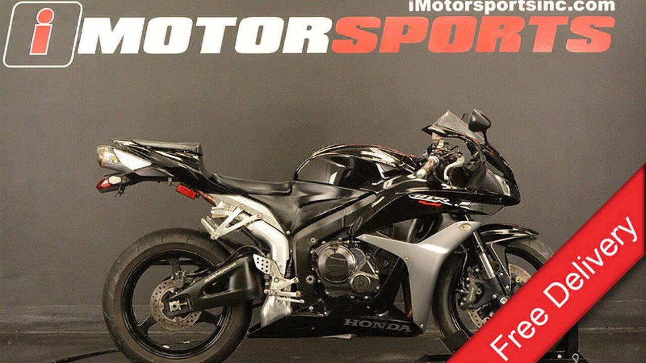 2007 Honda CBR600RR for sale 200527908