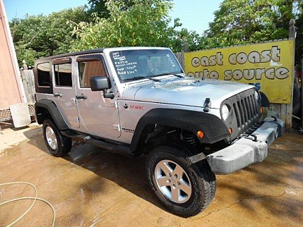 2007 Jeep Wrangler 4WD Unlimited X for sale 100290494