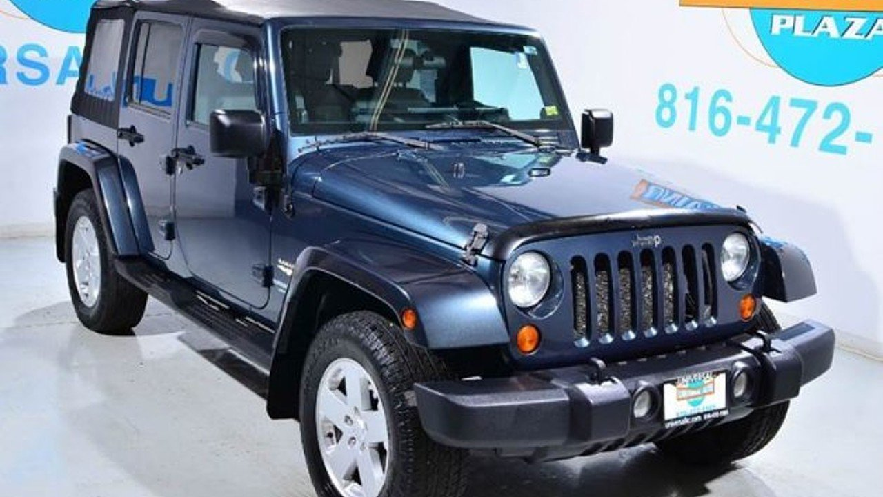 2007 Jeep Wrangler 4WD Unlimited Sahara for sale 100924208