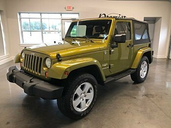 2007 Jeep Wrangler 4WD Sahara for sale 101028056