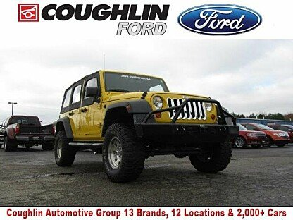 2007 Jeep Wrangler 4WD Unlimited X for sale 100919691