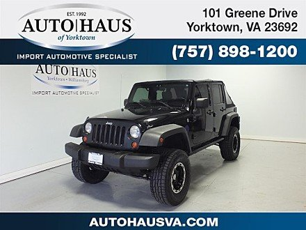 2007 Jeep Wrangler 4WD Unlimited X for sale 100923237