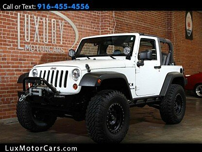 2007 Jeep Wrangler 4WD X for sale 100953748