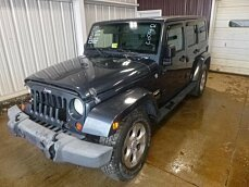 2007 Jeep Wrangler 4WD Unlimited Sahara for sale 100955746