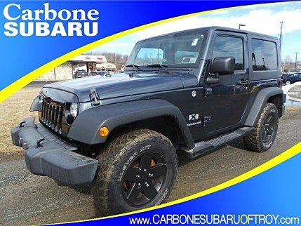 2007 Jeep Wrangler 4WD X for sale 100959796
