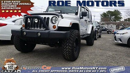 2007 Jeep Wrangler 4WD Unlimited Sahara for sale 100962617