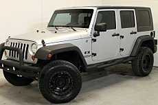 2007 Jeep Wrangler 4WD Unlimited X for sale 100970500