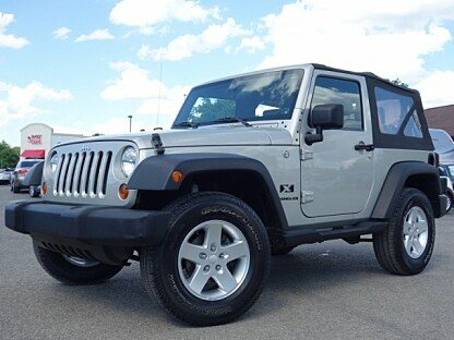 2007 Jeep Wrangler 4WD X for sale 100974644