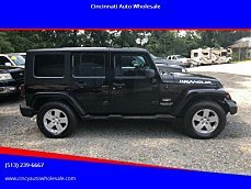 2007 Jeep Wrangler 4WD Unlimited Sahara for sale 101012644