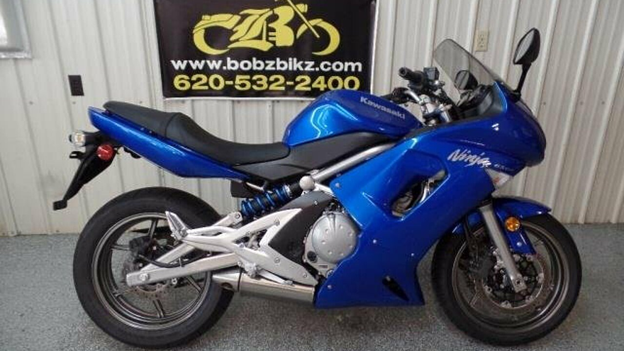 2007 Kawasaki Ninja 650R for sale 200502938