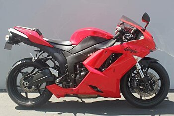 2007 Kawasaki Ninja ZX-6R for sale 200482231