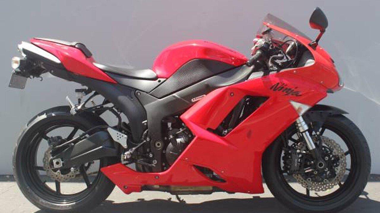 2007 Kawasaki Ninja ZX-6R for sale near El Cajon, California 92021 ...