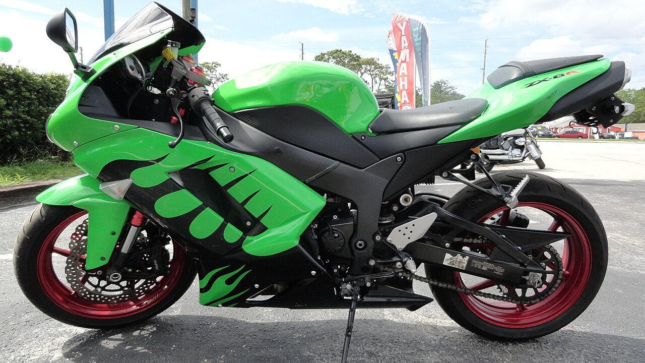 2007 Kawasaki Ninja ZX-6R for sale 200498777