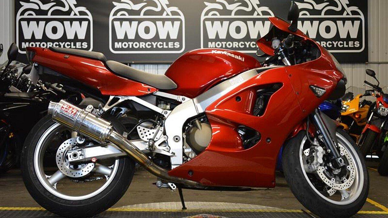 2007 Kawasaki ZZR600 for sale 200503134