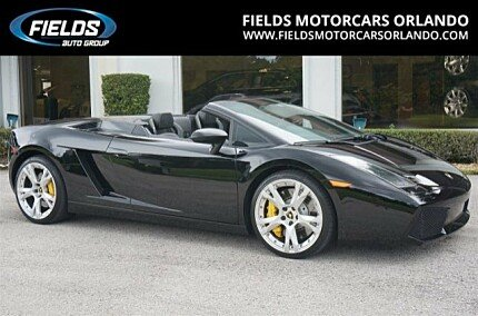 2007 Lamborghini Gallardo Spyder for sale 100794317