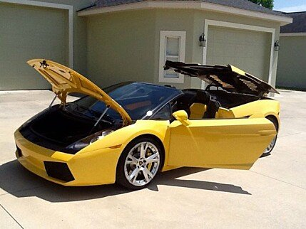 2007 Lamborghini Gallardo Spyder for sale 100753954