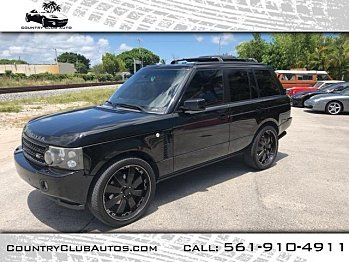 2007 Land Rover Range Rover Supercharged for sale 101017248