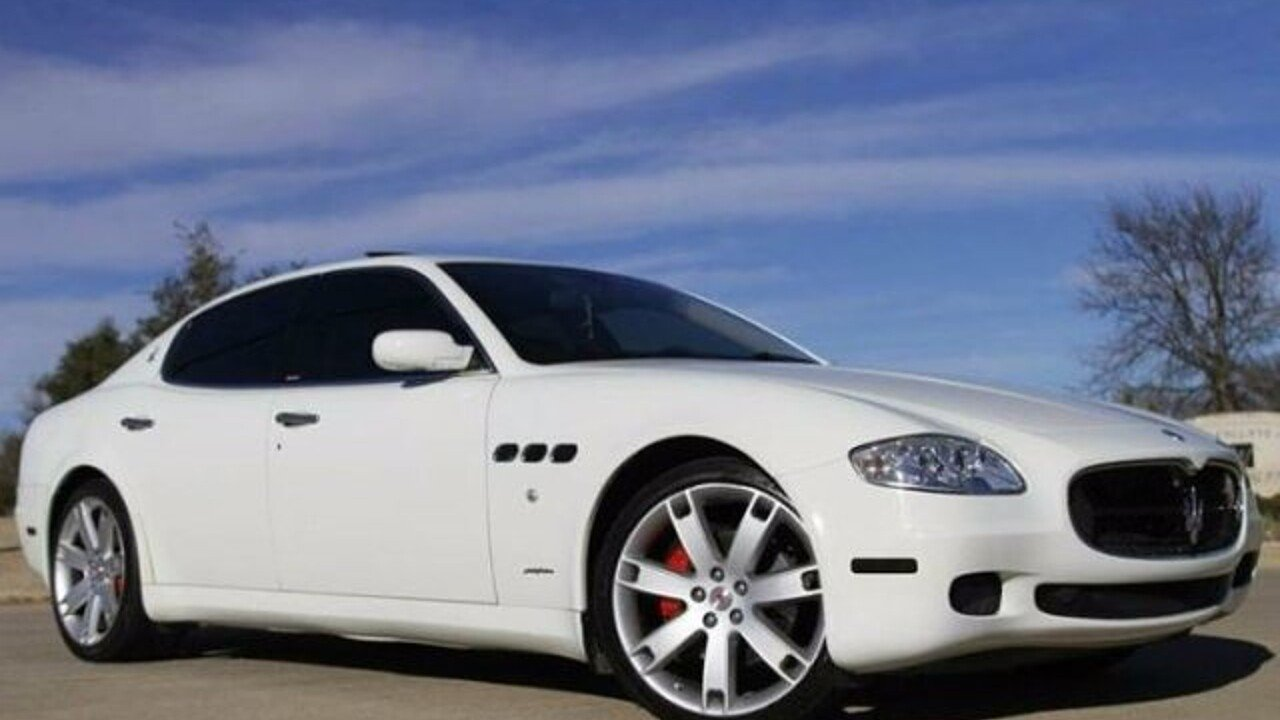 2007 Maserati Quattroporte for sale 100926085
