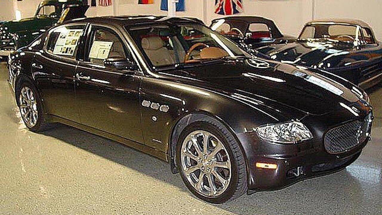 2007 Maserati Quattroporte for sale 101002927