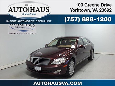 2007 Mercedes-Benz S550 for sale 100953983