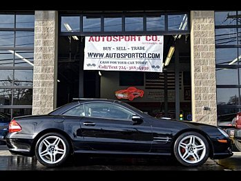 2007 Mercedes-Benz SL550 for sale 100957666