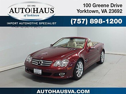 2007 Mercedes-Benz SL550 for sale 100986523