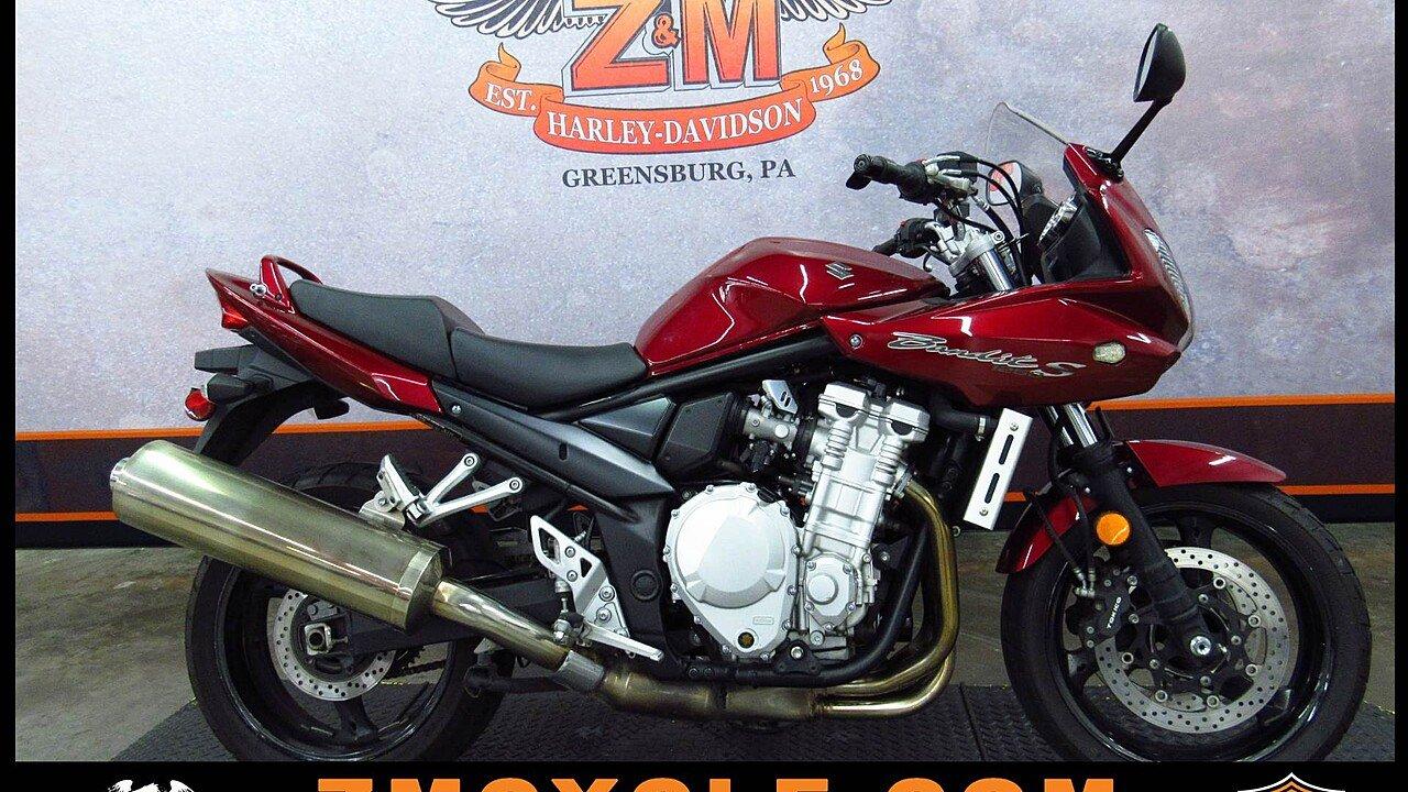 2007 suzuki bandit 1250 for sale near greensburg pennsylvania 15601 motorcycles on autotrader. Black Bedroom Furniture Sets. Home Design Ideas