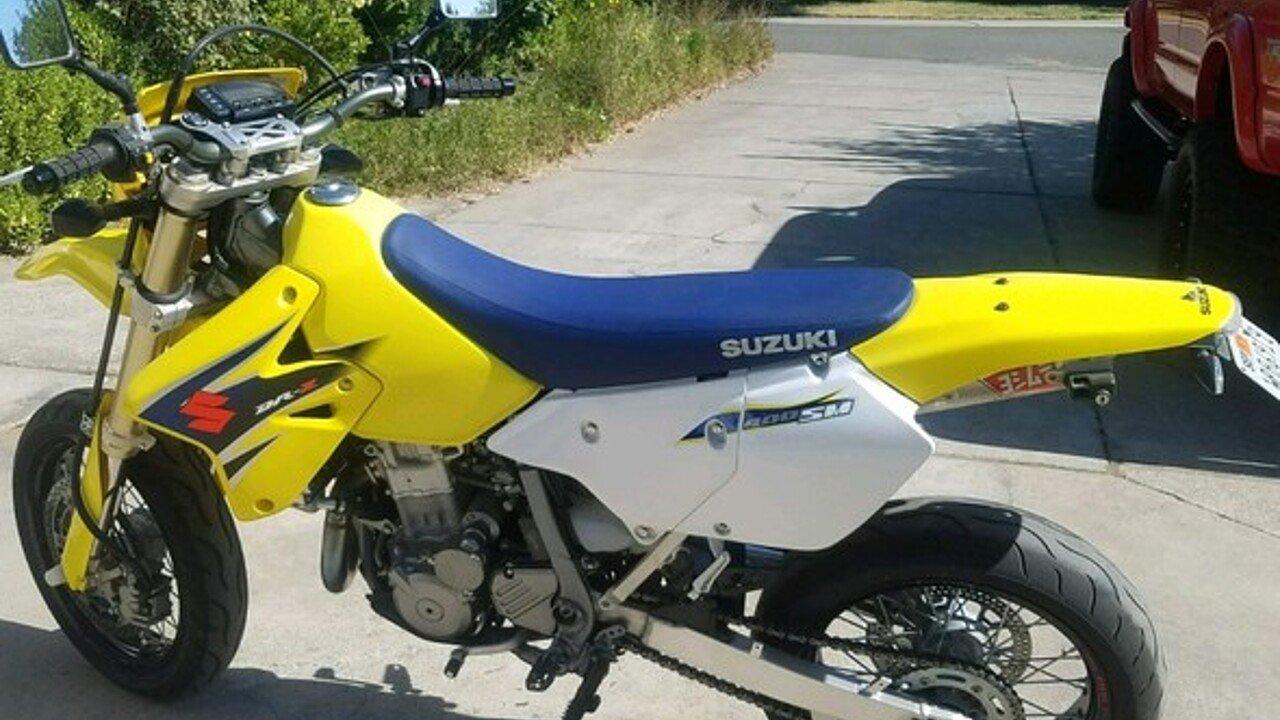 2007 Suzuki DR-Z400SM for sale 200502836
