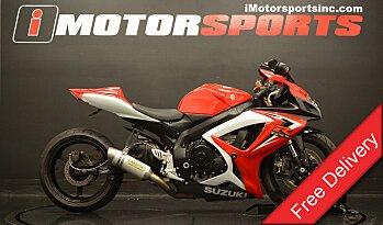 2007 Suzuki GSX-R600 for sale 200442257
