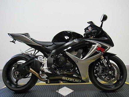 2007 Suzuki GSX-R600 for sale 200431117
