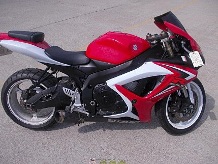2007 Suzuki GSX-R600 for sale 200636723