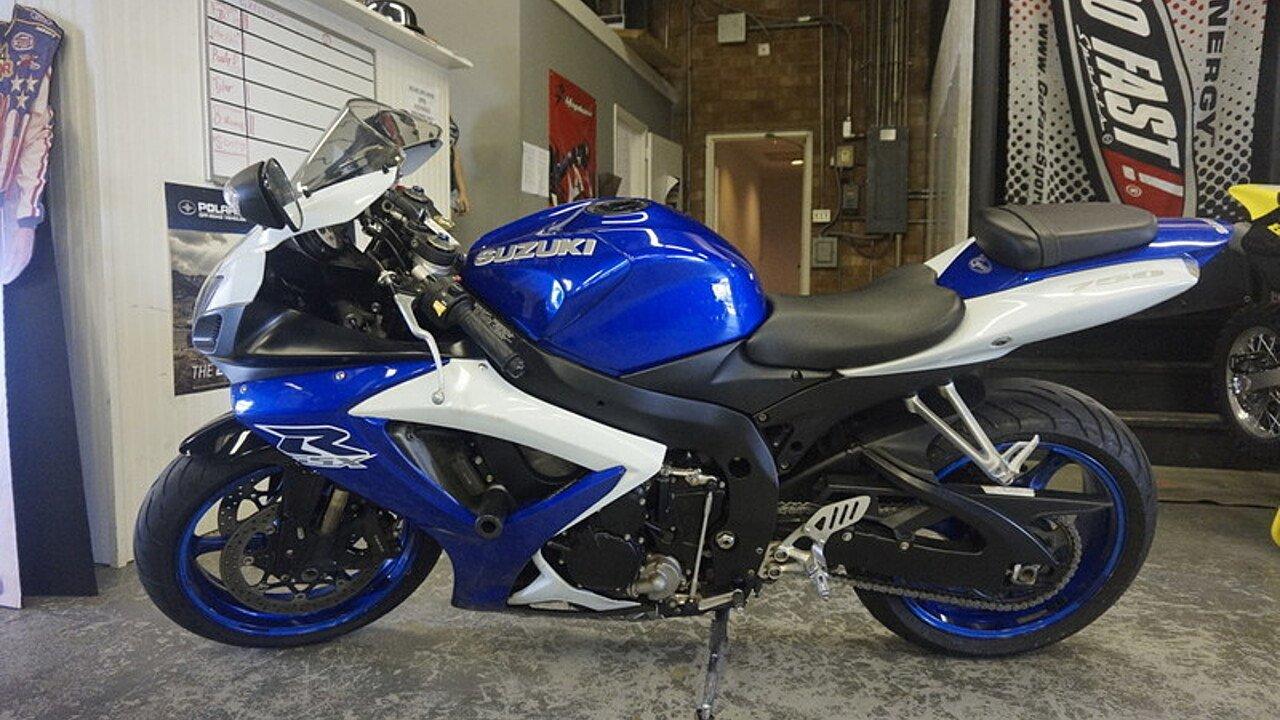 2007 Suzuki GSX-R750 for sale 200587296
