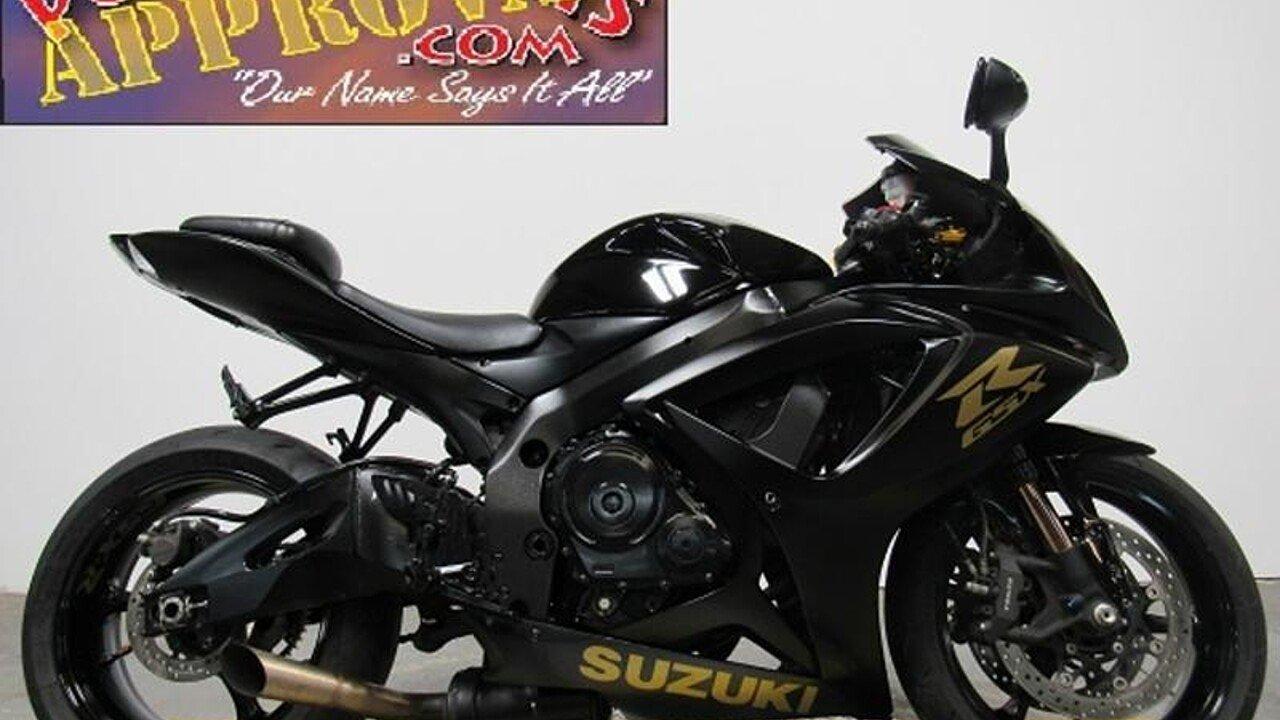 2007 Suzuki GSX-R750 for sale 200642864