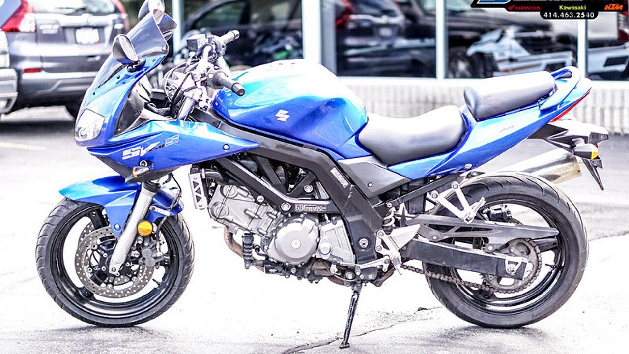 2007 Suzuki SV650S for sale 200618338