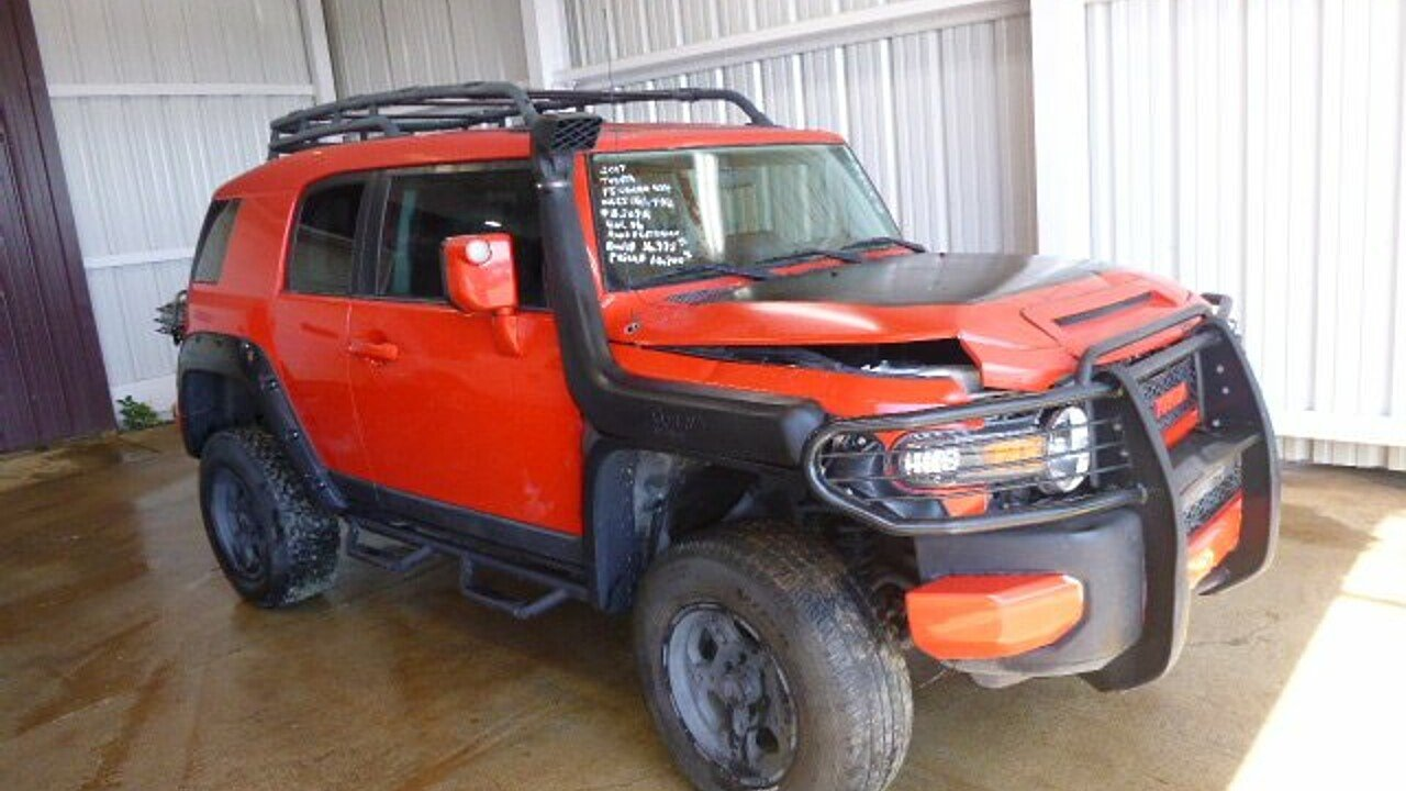 2007 toyota fj cruiser 4wd for sale near bedford virginia 24174 classics on autotrader. Black Bedroom Furniture Sets. Home Design Ideas