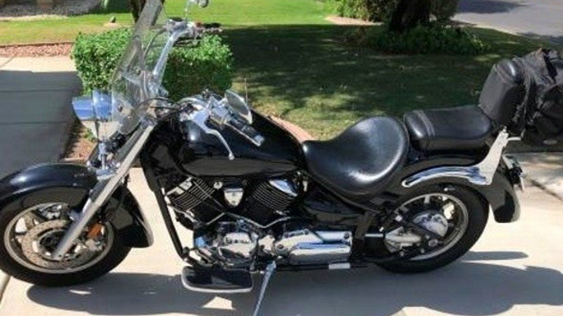 2007 Yamaha V Star 1100 for sale 200625079