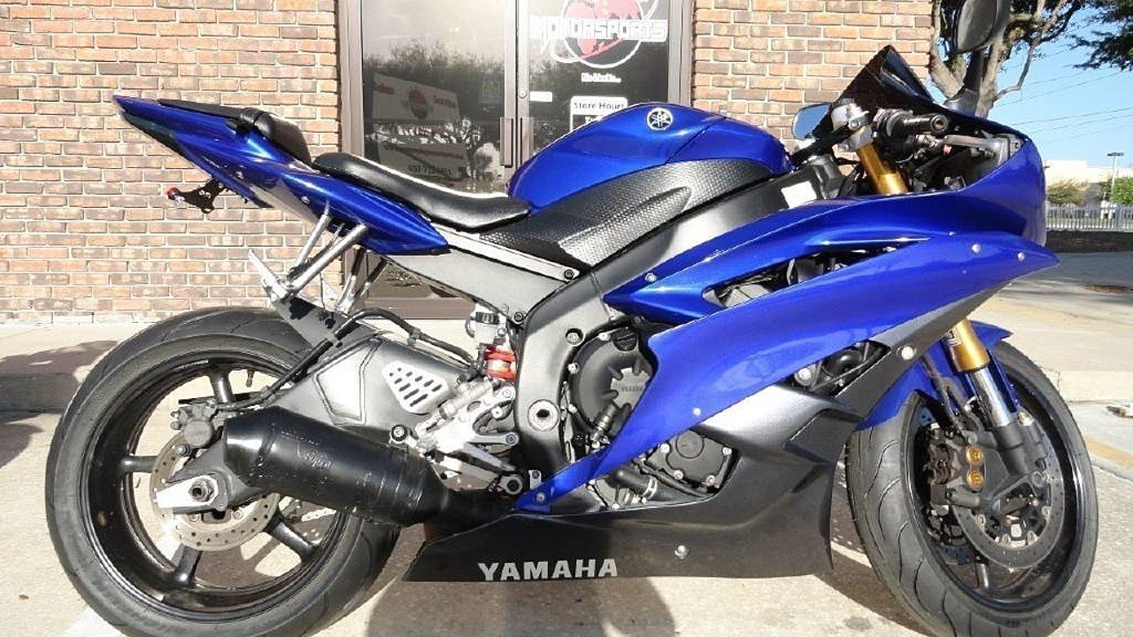 2007 Yamaha YZF-R6 for sale 200328110