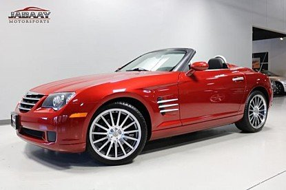 2007 chrysler Crossfire Convertible for sale 101030000
