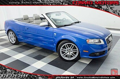 2008 Audi S4 Cabriolet for sale 100841254