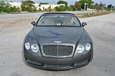 2008 Bentley Continental GTC Convertible for sale 100930196