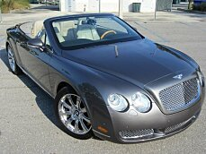 2008 Bentley Continental GTC Convertible for sale 101004366